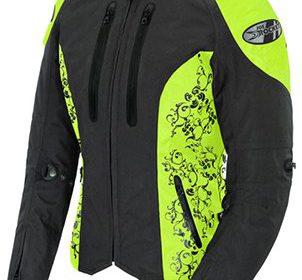 Joe Rocket Ladies Atomic 4.0 Motorcycle Jacket BLACK/HI ...