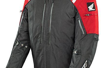 Joe Rocket Honda CBR Menu0027s Textile Street Racing Motorcycle Jacket U2013  Red/Black / X Large